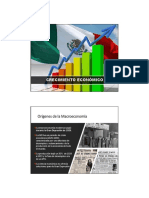 CRECIMIENTO ECONOMICO en MEXICO. Breve Reseña