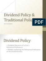 01. Dividend Policy Introduction