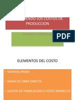 Conociendo Los Costos de Produccion