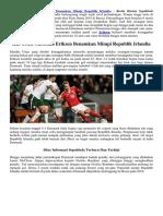 Hat Trick Christian Eriksen Benamkan Mimpi Republik Irlandia
