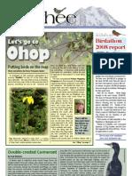 09-2008 Towhee Newsletter Tahoma Audubon Society