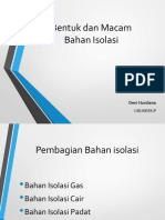 Isolasi Padat Cair Gas