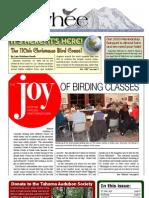 12-2009 Towhee Newsletter Tahoma Audubon Society