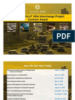 Description of the highway project