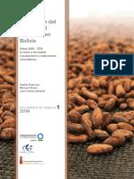 Produccion Del Cacao y Del Chocolate en Bolivia