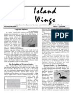 March-April 2006 Island Wings Newsletter Vashon-Maury Island Audubon