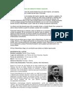 Fortunata y Jacinta de Benito Perez Galdos