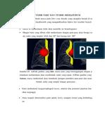 Beda Tumor Paru Dan Tumor Mediastinum