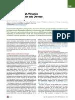 Mitochondrial DNA Variatn
