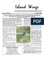 July-August 2008 Island Wings Newsletter Vashon-Maury Island Audubon