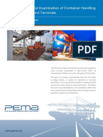 Practical Structural Examination of Container Handling Cranes in Ports and Terminals