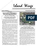 November-December 2008 Island Wings Newsletter Vashon-Maury Island Audubon