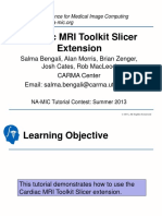Cardiac MRI Toolkit Tutorial Summer2013
