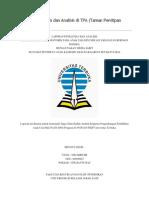 Laporan Penelitian Dan Analisis Di TPA T