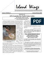 January-February 2009 Island Wings Newsletter Vashon-Maury Island Audubon