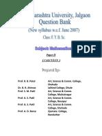 F. Y. B. Sc. (Mathematics) Question Bank-II.pdf