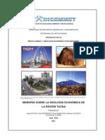 2011 GE33 Memoria Geologia Economica Tacna