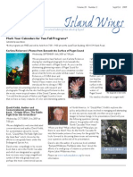 September-October 2009 Island Wings Newsletter Vashon-Maury Island Audubon