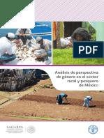 Análisis de Perspectiva de Género en El Sector Rural y Pesquero de México