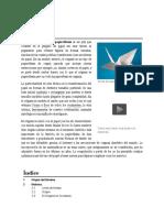 El origami (折り紙?) o papiroflexia