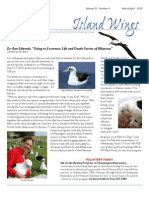 March-April 2010 Island Wings Newsletter Vashon-Maury Island Audubon