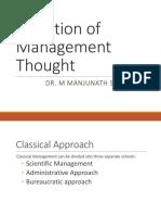 Management Thinking