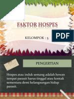 PPT FAKTOR HOSPES