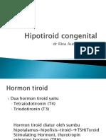 hipotirid kongenital