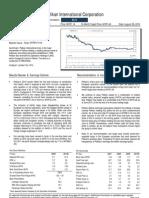 Pelikan 2Q10 - Raise to Buy