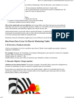 Diez Pasos Para Crear Un Pl..