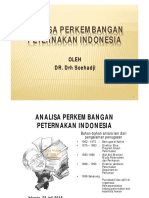 1 Suhadji Analisa Mengenai Perkembangan Peternakan Indonesia
