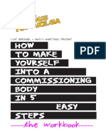 How to Make Yourself Into a Commissioning Bodywork Book