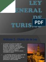 Ley Turismo