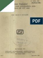 Is 10153 Disposalflyash
