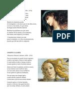 Clases de Poemas - Ejemplos