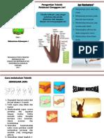 Leaflet Teknik Genggam Jari