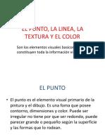 El Punto, La Linea, La Textura