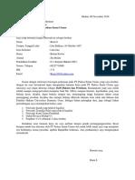 Surat Lamaran PT Padasa Enam Utama