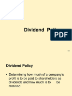 04.06.2016Dividend Policy