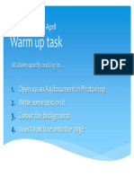warm up task