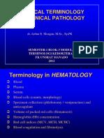 Terminologi Kedokteran Patologi Klinik