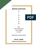 Tugas Bhs Indonesia Arti Lambang