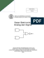 Dasar Elektronika Analog Dan Digital