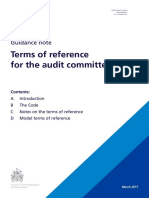 Audit Committee TOR