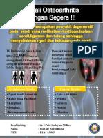 Kenali Osteoarthritis