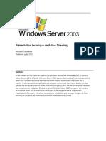 Presentation Active Directory