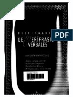 8. Diccionario de Perífrasis Del Español