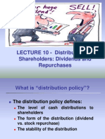 10Lecture10-DividendPolicy