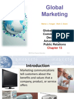 Ch. 13 Global Marketing Communication DEcisions 1