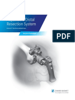 Adjustable Distal Resection System Surgical Technique